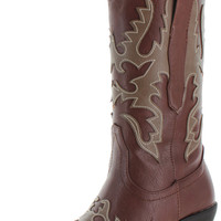 Corkys Women's Western Pull On Cowboy Cowgirl Boots