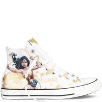 Converse - Chuck Taylor DC Comics Wonder Woman - White Multi - Hi