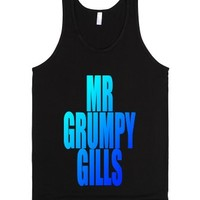 C - Mr Grumpy-Unisex Black Tank
