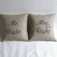 Mr Right & Mrs Always Right Set Of .. on Luulla