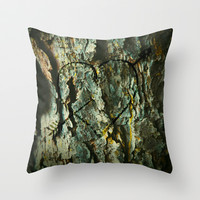 Lover's Tree Throw Pillow by LJehle