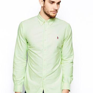Polo Ralph Lauren Oxford Shirt in Slim Fit