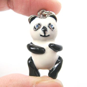 Panda Bear Teddy Animal Pendant Necklace | Limited Edition Animal Jewelry