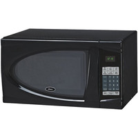 Oster Ogdj901 .9 Cubic-Ft Black Microwave