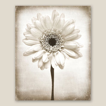 Large Canvas Art, Rustic Home Decor, Ready To Hang, Wall Decor, Vertical Wall Art,  Large Wall Art, Flower Print,  Farmhouse Art - Ms. Daisy