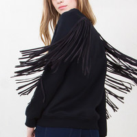 Cowgirl Fringe Top