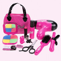 Children Kids Girls Pretend Play Makeup Kit Toys Gift Play