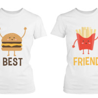 Burger and Fries Best Friend BFF T-Shirts - 365 Printing Inc