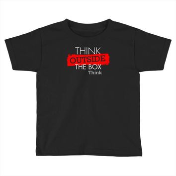 think outside the box thinker Toddler T-shirt
