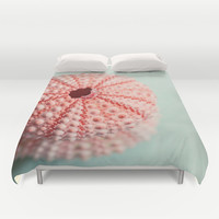 sea urchins series no 1 Duvet Cover by Erin Johnson