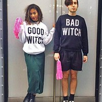 Good Witch / Bad Witch Duo Crewneck Sweatshirt