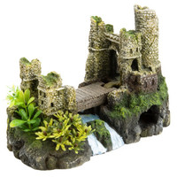 Top Fin Castle Bridge Aquarium Ornament