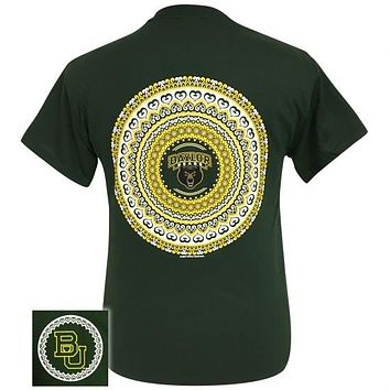Texas Baylor Bears Preppy Mandala T-Shirt