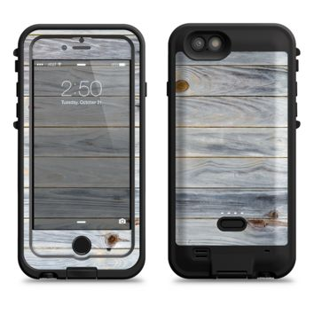 The Light Tinted Wooden Planks  iPhone 6/6s Plus LifeProof Fre POWER Case Skin Kit