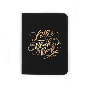 """Little Black Book"" Notebook"
