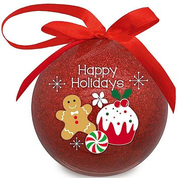 """Christmas Paper Ornament """"Holiday Delights Glitter"""""""