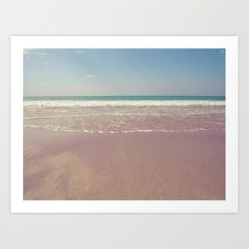 Sea waves 7 Art Print by vanessagf