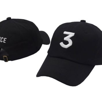 CHANCE 3 Embroidered Baseball Cap Hat