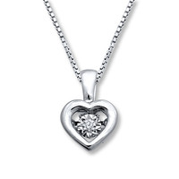 Diamonds in Rhythm Diamond Accent Sterling Silver Necklace