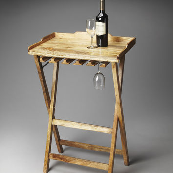 Artifacts Highland Solid Wood Folding Wine Rack