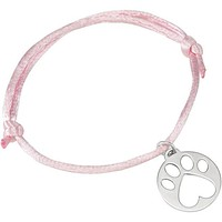 Sterling Silver Our Cause for Paws™ Dog Paw Charm Bracelet