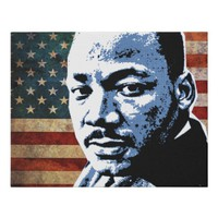 I HAVE A DREAM FAUX CANVAS PRINT