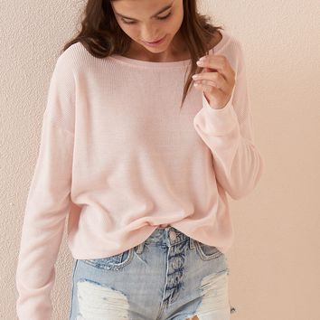Off-The-Shoulder Pullover