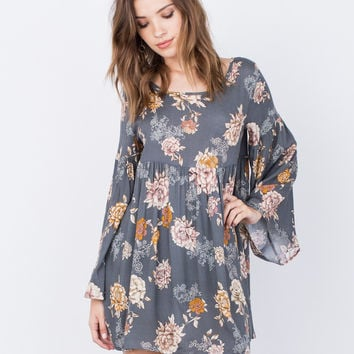 Autumn Florals Dress