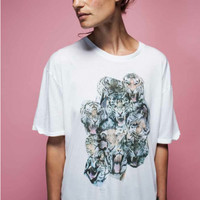 Tigers Boyfriend Tee by Zoe Karssen - Women's Fashion - Hunters & Gatherers - Hunters and Gatherers