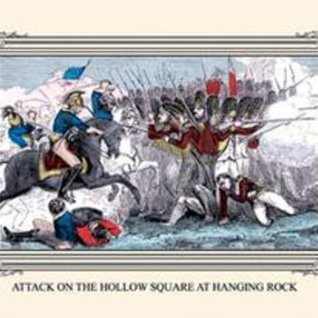 Attack on the Hollow Square at Hanging Rock: Fine art canvas print (12 x 18)