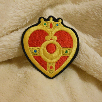 Sailor Moon Cosmic Heart Compact sew on embroidered patches