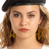 Babe Star Midi Translucent Earrings