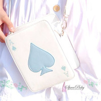 Lolita Harajuku Double sides of Poker Shoulder Bag free shipping SP130324 from SpreePicky