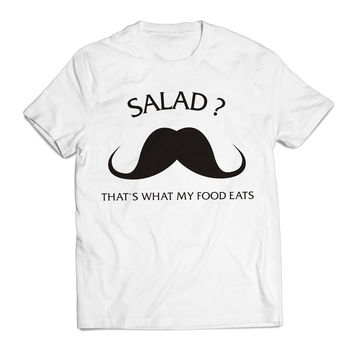 Salad That s What My Food Eats white Clothing T Shirt Men