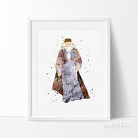 Professor Albus Dumbledore Harry Potter Art Print