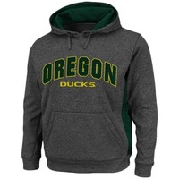 Oregon Ducks Keystone Pullover Hoodie - Charcoal