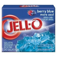 Jell-O Berry Blue Gelatin 6 oz