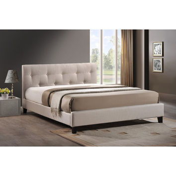 Wholesale Interiors Annette Upholstered Panel Bed & Reviews | Wayfair