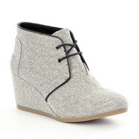 TOMS Desert Wedge Booties | Dillards