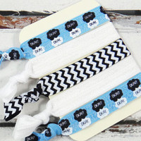 TFIOS 5 Pack elastic hair ties