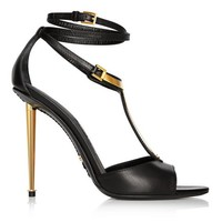 LEATHER T-SANDAL