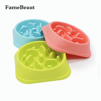 FameBeaut Strange New Anti-Choking Anti-Obesity Dog Bowl