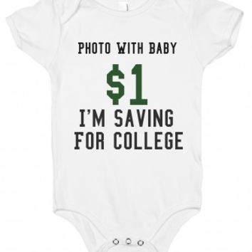 Photo With Baby $1 I'm Saving For