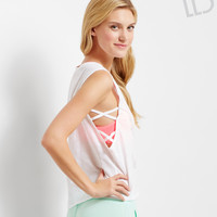LLD Sleeveless 97 Lattice-Side Top
