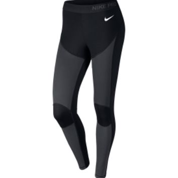 Nike Women's Pro Hyperwarm Shield Cold Compression Tights | DICK'S Sporting Goods