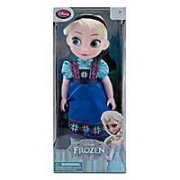 Elsa Toddler Doll - Frozen - 16'' | Disney Store