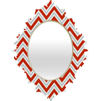 Caroline Okun Peppermint Baroque Mirror