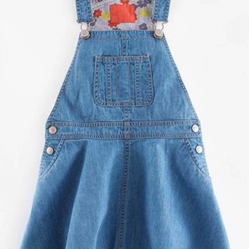 Girl's Mini Boden Overall Dress,