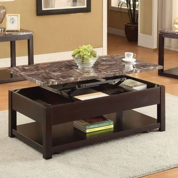 Acme Furniture Dusty Coffee Table - Coffee Tables at Hayneedle