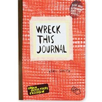 Wreck This Journal Book at Urban Outfitters
